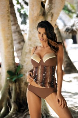 Tankini Amelia Brown M-409 (3)
