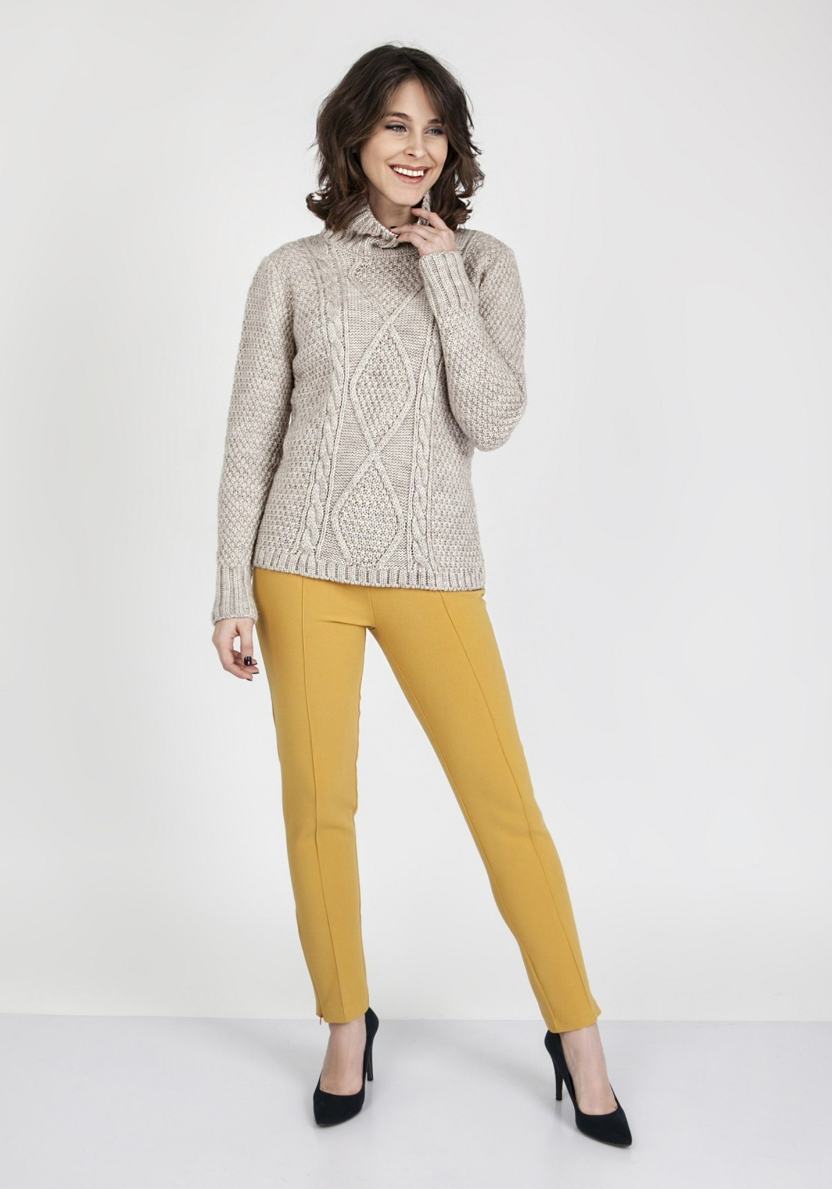 Sweter Estelle SWE 121 Beżowy
