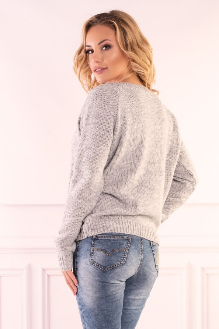 Sweter Natherin Grey