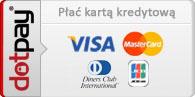 Zapłać kartą w all-bielizna.pl za pośrednictwem Dotpay